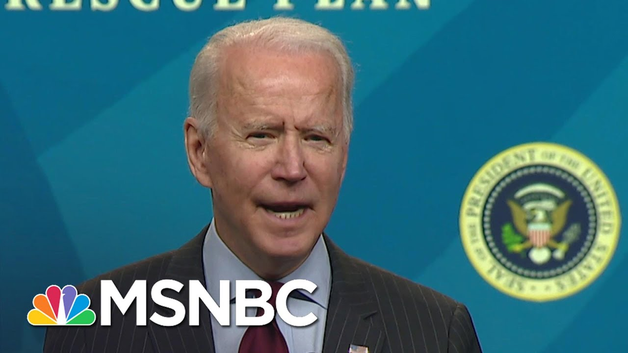 Biden: Small Businesses With Under 20 Employees To Have 14-Day Window To Apply For Loans   MSNBC 1