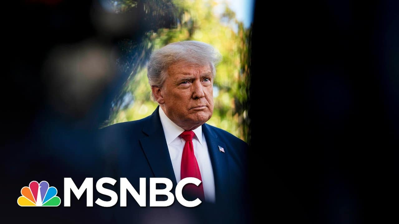 Michael Cohen Says 'It Does Not Look Good' For The Former President's Taxes   Katy Tur   MSNBC 1