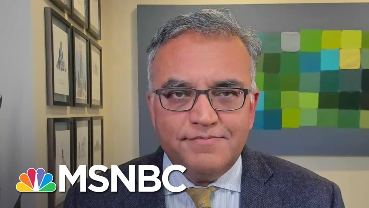 Why Dr. Jha Is Very Hopeful About March | Deadline | MSNBC 1
