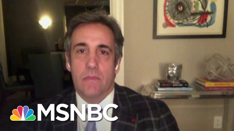 Michael Cohen Predicts An Indictment Against Trump 'Sooner Than Later' | The ReidOut | MSNBC 1