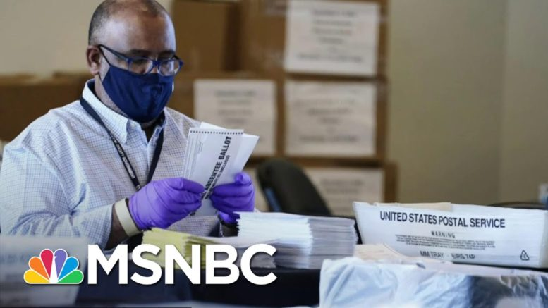 How Republicans Are Using 'The Big Lie' To Push Racist Voter Suppression | All In | MSNBC 1