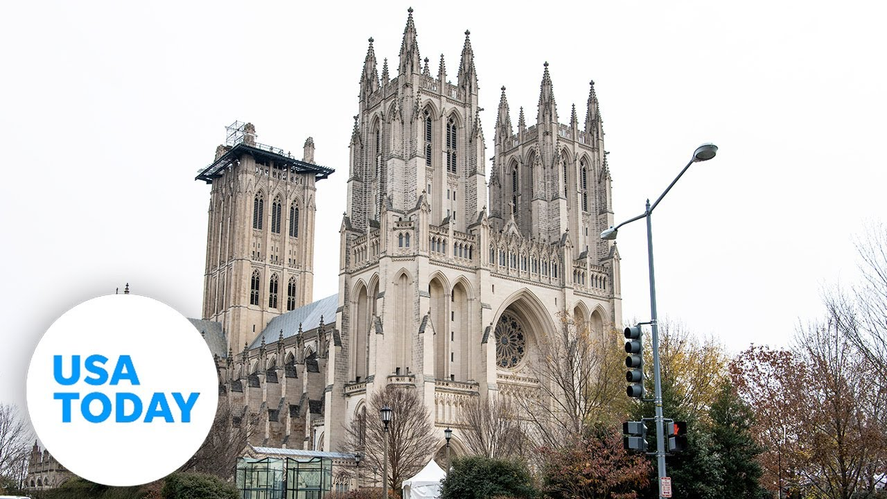 Washington National Cathedral rings bells to mark 500k lives lost to COVID | USA TODAY 1