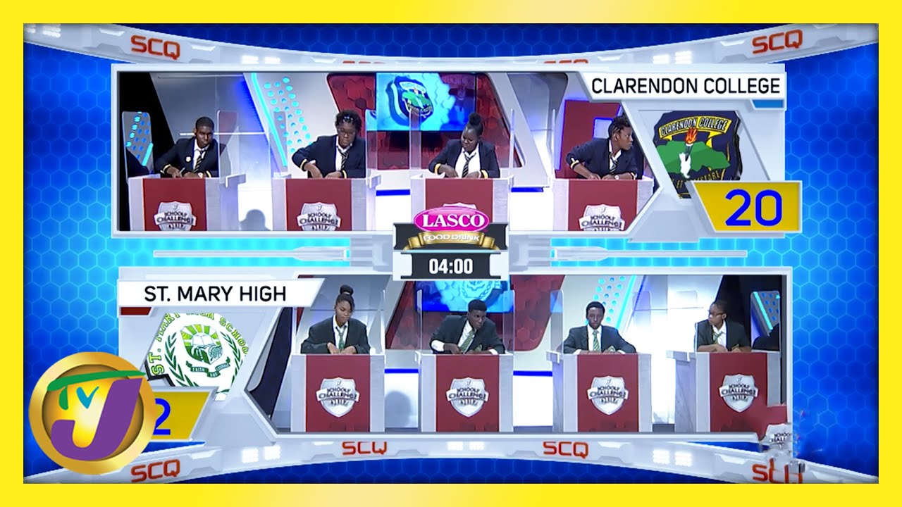 Clarendon College vs St. Mary High: TVJ SCQ 2021 - February 19 2021 1