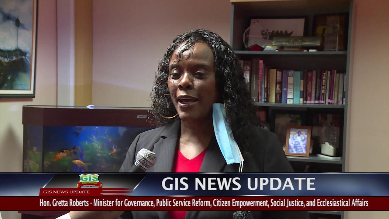 GIS NEWS UPDATE - Prime Minister Skerrit Takes COVID-19 Vaccine 9