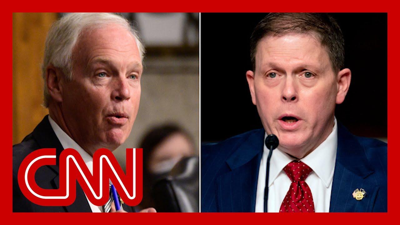 Ex-Capitol police chief contradicts GOP senator at riot hearing 1