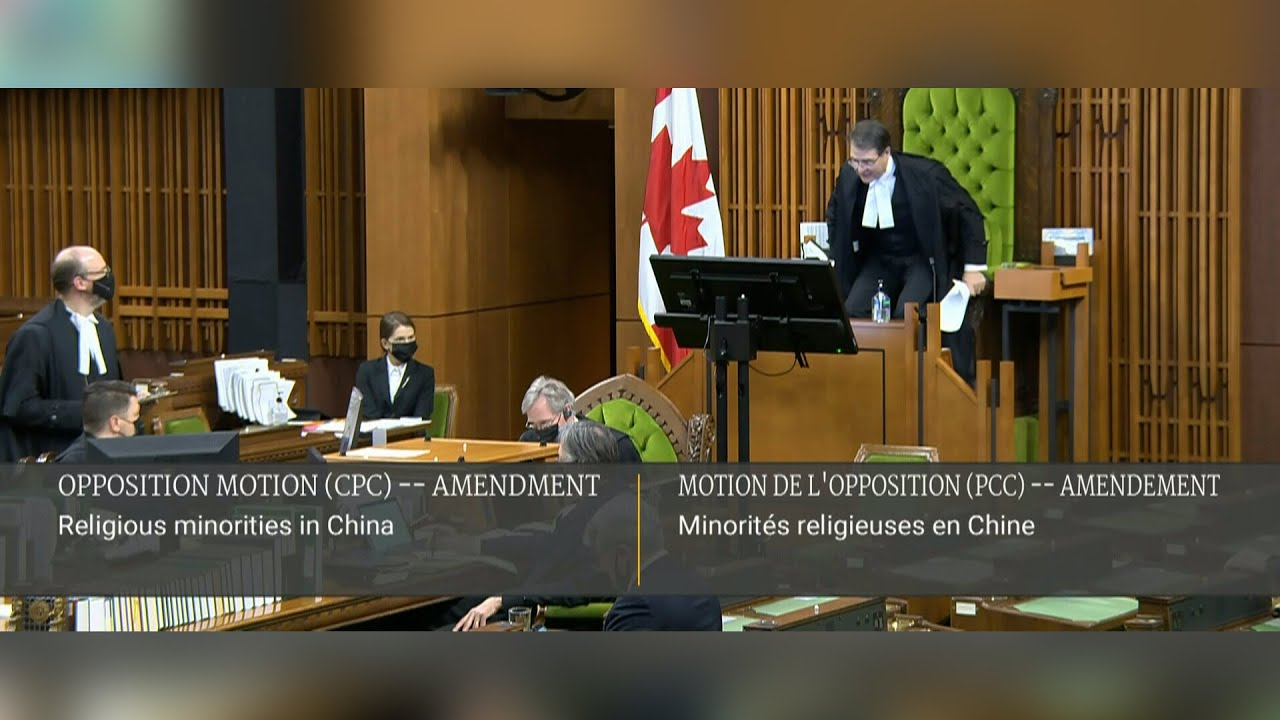 MPs vote to declare China's treatment of Uighurs a genocide | Trudeau, cabinet abstain from the vote 1