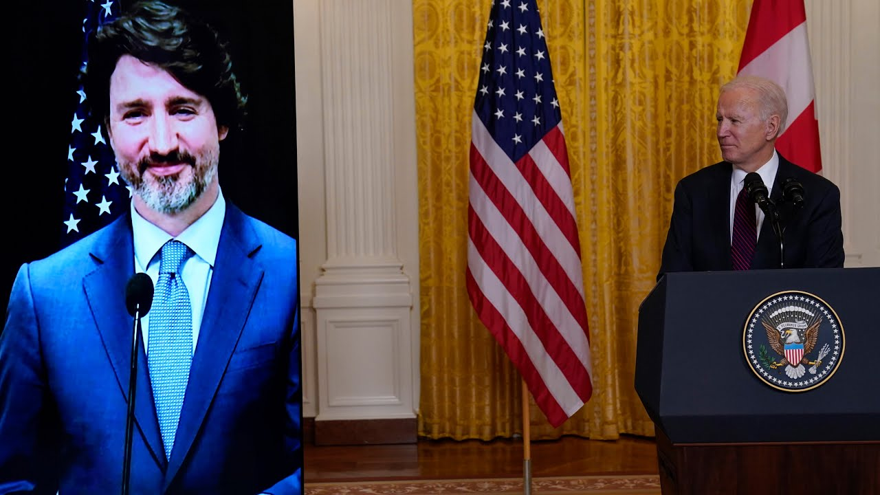 Watch U.S. President Biden's full statement after first meeting with Prime Minister Trudeau 7