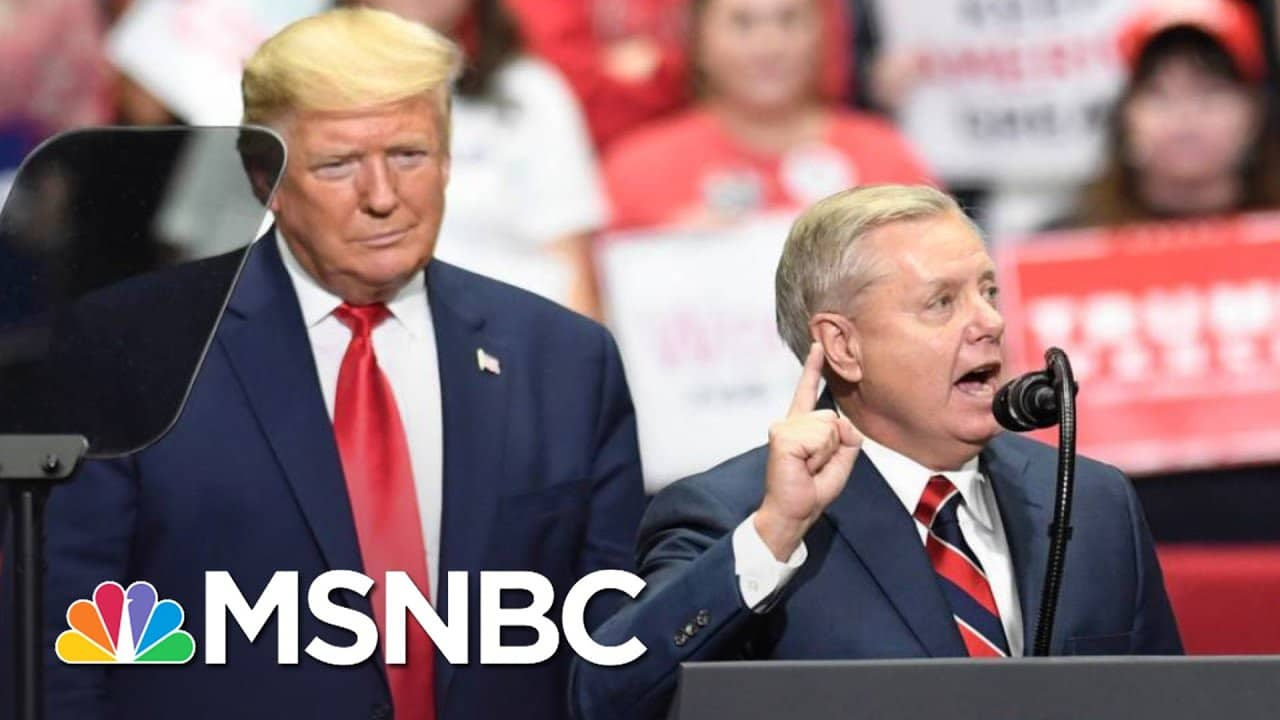 Lindsey Graham Says A Policy-Driven Trump Will Lead The GOP   The 11th Hour   MSNBC 8