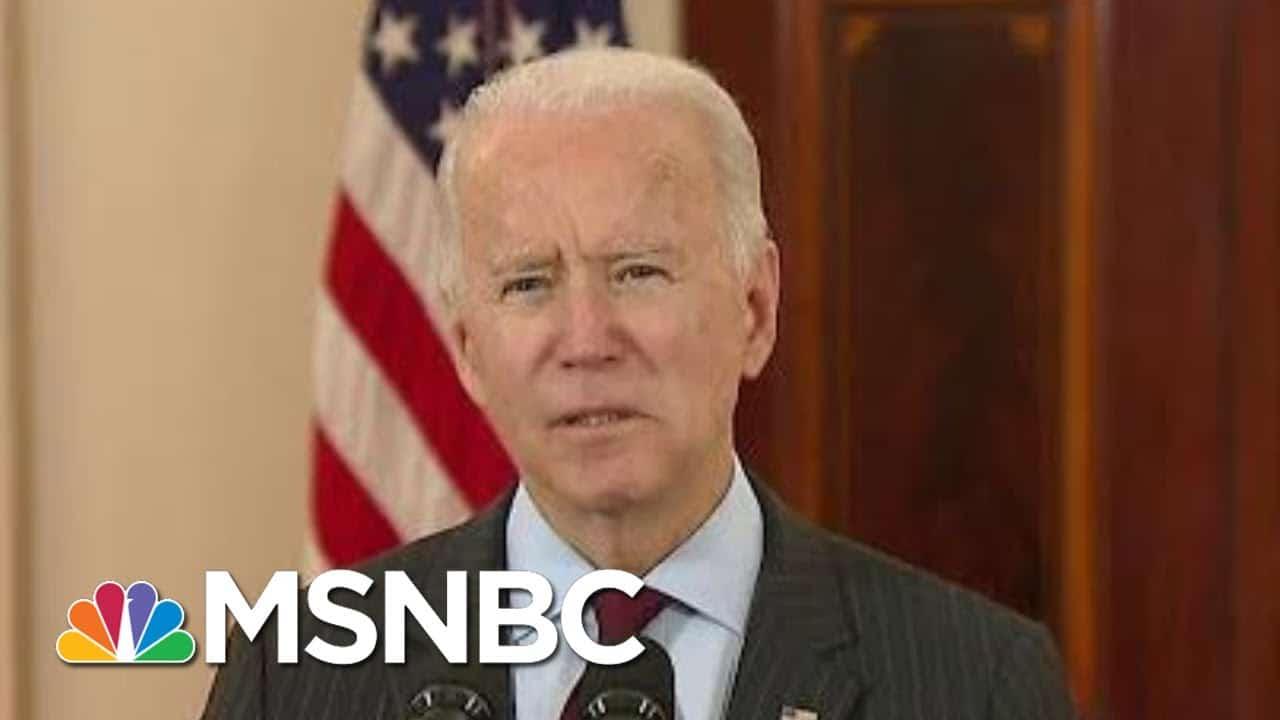 Biden Honors 500,000 Covid-19 Deaths With Heartfelt Address To The Nation | Morning Joe | MSNBC 1