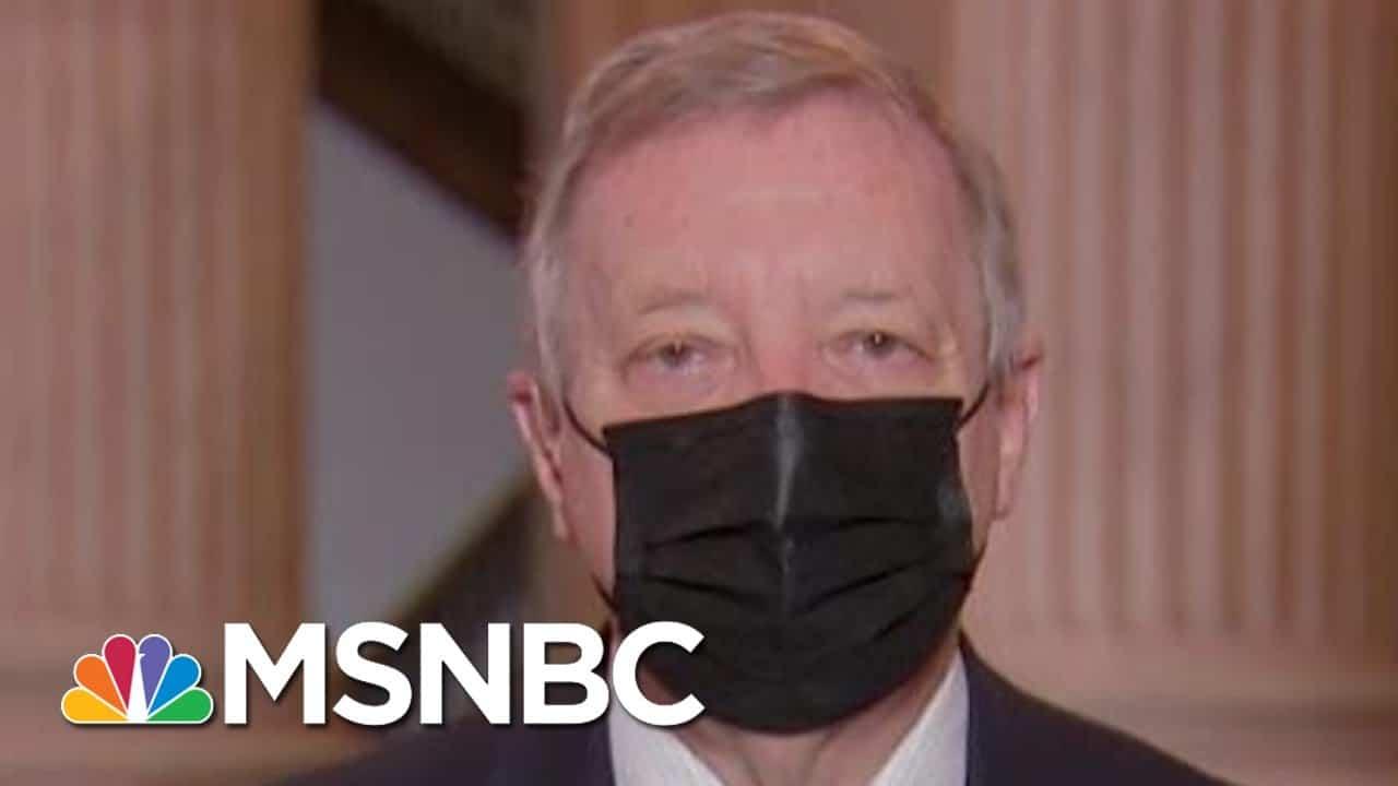 Sen. Durbin: Bipartisan Support Needed For Coronavirus Relief   Morning Joe   MSNBC 1