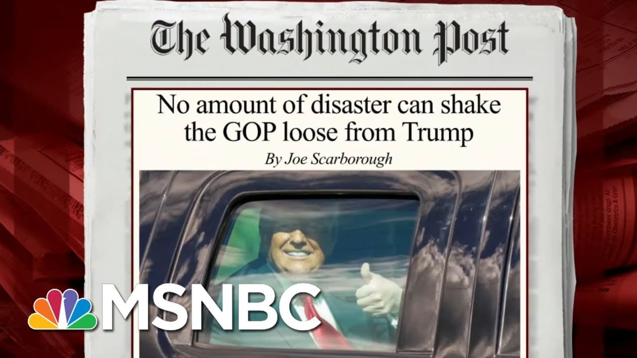 Trump's Attempts To Overturn Election Results Caused Politician To Leave GOP | Morning Joe | MSNBC 1