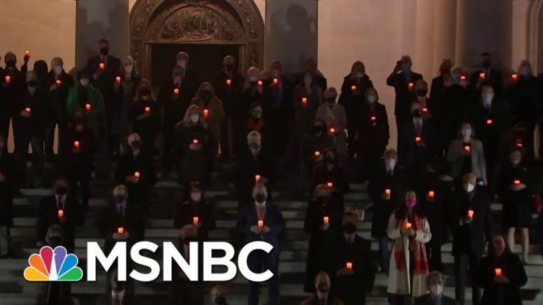 Congress Holds Moment Of Silence To Mark 500,000 U.S. Covid-19 Deaths | MSNBC 1