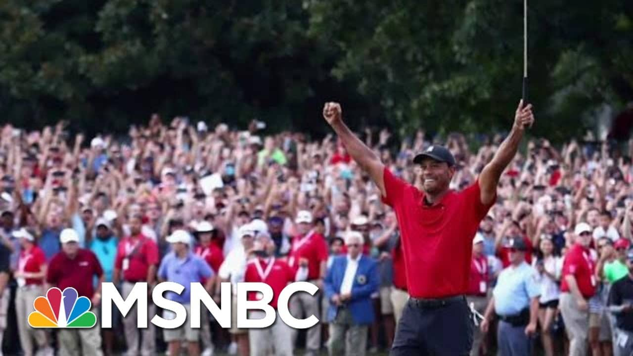 Why Tiger Woods Is This Generation's Muhammad Ali | The Beat With Ari Melber | MSNBC 1