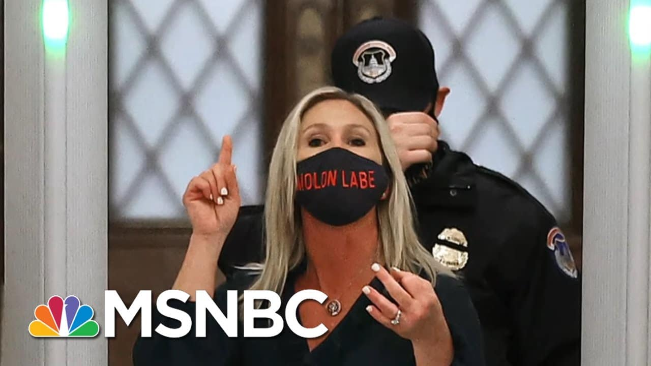 Chris Hayes On The Implied Threat When Republicans Use Guns As Props   All In   MSNBC 1