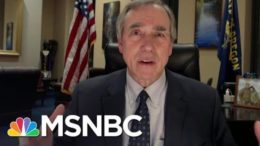 Sen. Merkley: GOP Senators Used Hearing On Capitol Attack To Push 'Big Myth' | All In | MSNBC 9