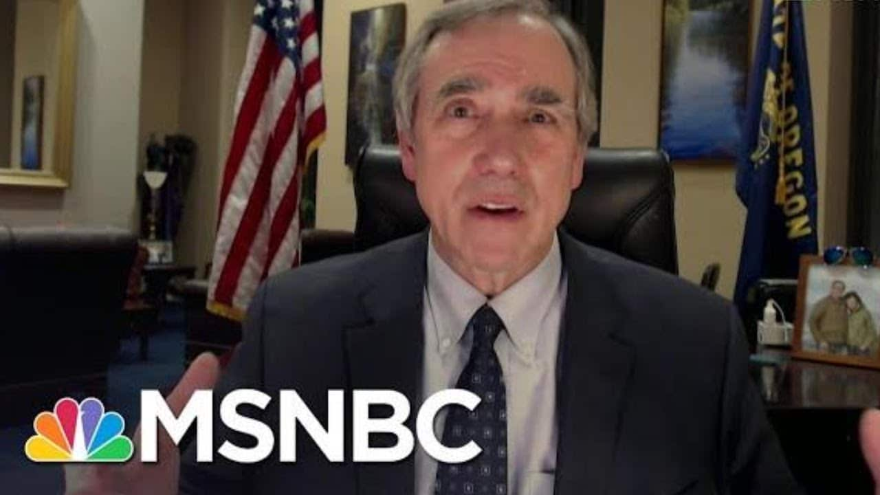 Sen. Merkley: GOP Senators Used Hearing On Capitol Attack To Push 'Big Myth' | All In | MSNBC 1