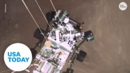 Mars rover captures first recorded sounds from planet including Martian breeze   USA TODAY 9