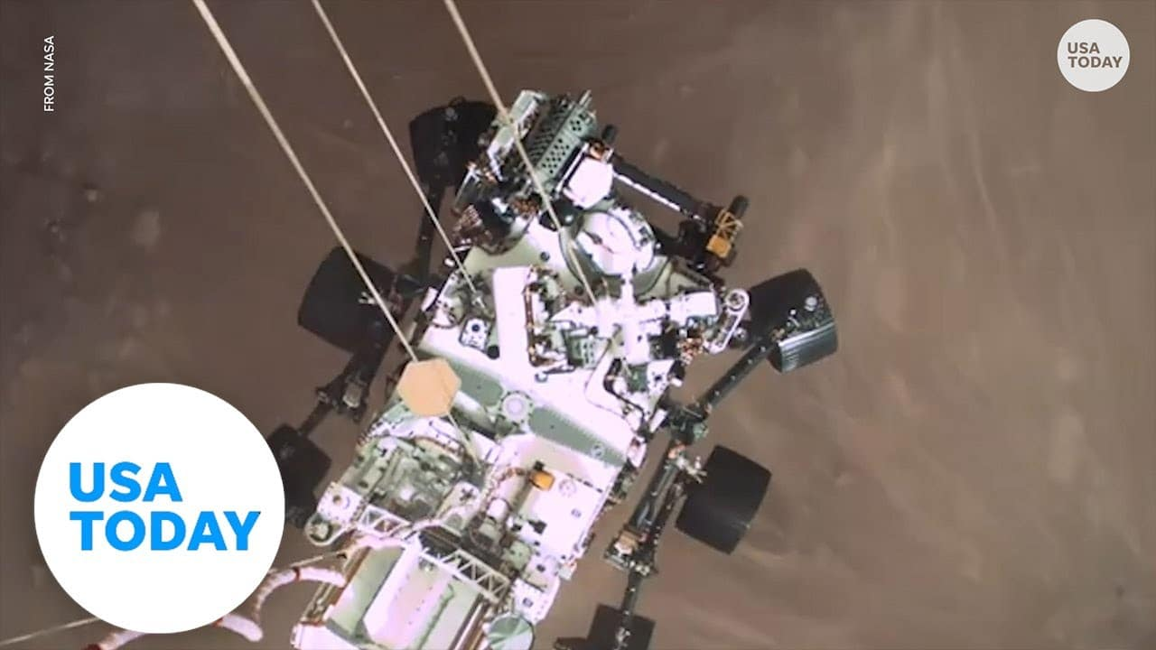 Mars rover captures first recorded sounds from planet including Martian breeze | USA TODAY 1