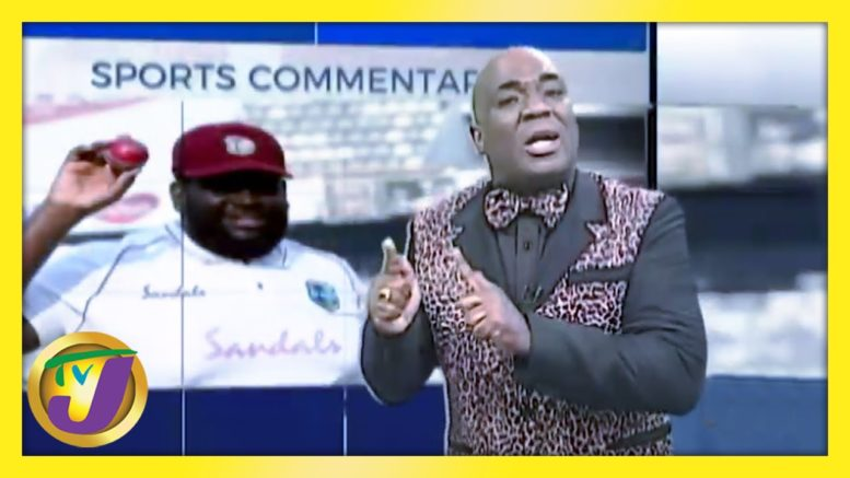 Rakeem Cornwall Performance: TVJ Sports Commentary - February 22 2021 1