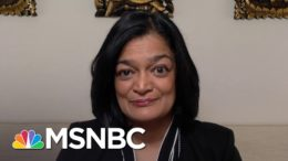 Rep. Jayapal: Minimum Wage Increase Needed For 'Unprecedented Crisis That We Face' | The Last Word 9