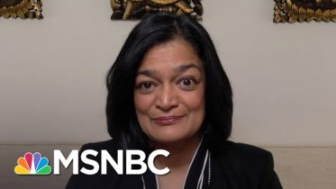 Rep. Jayapal: Minimum Wage Increase Needed For 'Unprecedented Crisis That We Face' | The Last Word 6