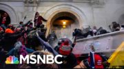 Chemical Burns And Chaos: Cops Shed New Light On Capitol Riot | The 11th Hour | MSNBC 2