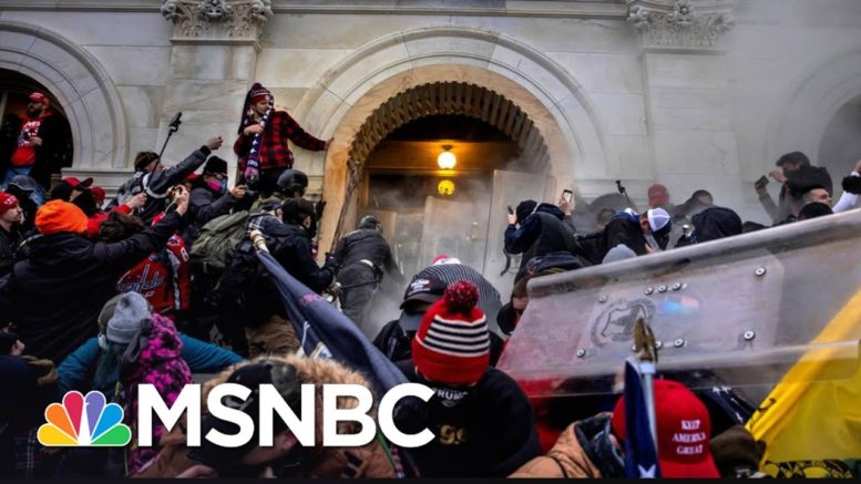 Chemical Burns And Chaos: Cops Shed New Light On Capitol Riot | The 11th Hour | MSNBC 1