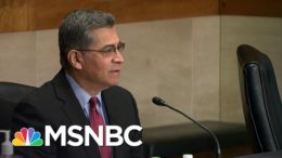 Republican Bad Faith Seen In Hollow Objections To Biden HHS Nominee Becerra | Rachel Maddow | MSNBC 3