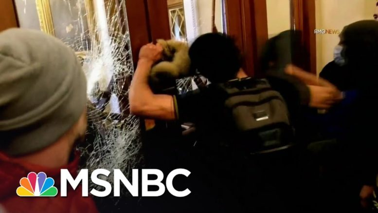 Underestimation Of Trump Mob's Violence More Than Mere 'Intelligence Failure' | Rachel Maddow 1