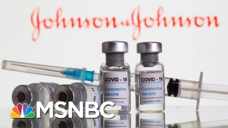 FDA Staff Backs Johnson & Johnson Single-Shot Covid Vaccine | Hallie Jackson | MSNBC 1