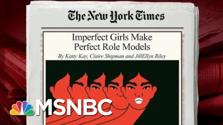 Why Imperfect Girls Make Perfect Role Models | Morning Joe | MSNBC 1