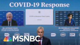 Biden Administration Announces Plan To Distribute 25 Million Free Masks To Health Centers | MSNBC 6