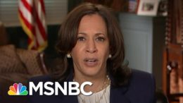 Rev. Sharpton Previews Discussion With VP Kamala Harris On Covid-19 Fight | Katy Tur | MSNBC 8