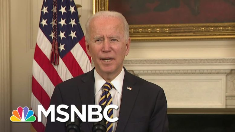 Biden Signs Executive Order To Strengthen America's Supply Chains | MSNBC 1