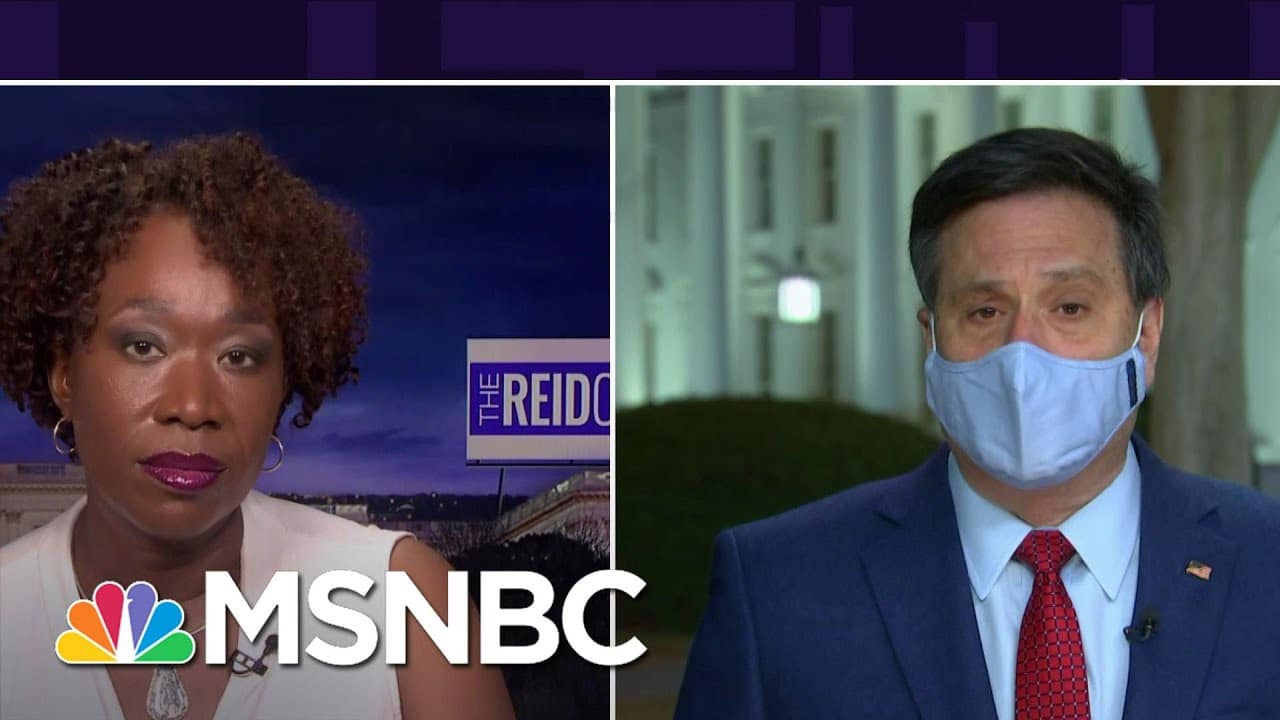 Ron Klain: 'We're Fighting Our Guts Out' To Get Neera Tanden Confirmed For OMB   The ReidOut   MSNBC 8