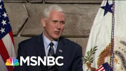 Mike Pence Claims He 'Maintains A Strong Relationship' With Trump | The ReidOut | MSNBC 6