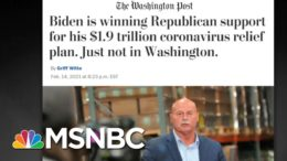 Biden's Covid Relief Bill Is Extremely Popular. So Why Do D.C. GOP Oppose It? | All In | MSNBC 9