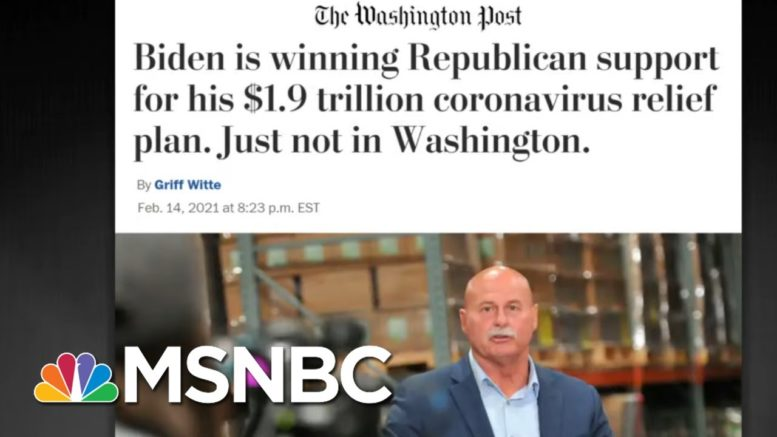 Biden's Covid Relief Bill Is Extremely Popular. So Why Do D.C. GOP Oppose It? | All In | MSNBC 1