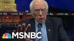 Sanders: 'There's Not One Republican Who Will Support A $15 Minimum Wage' | All In | MSNBC 4