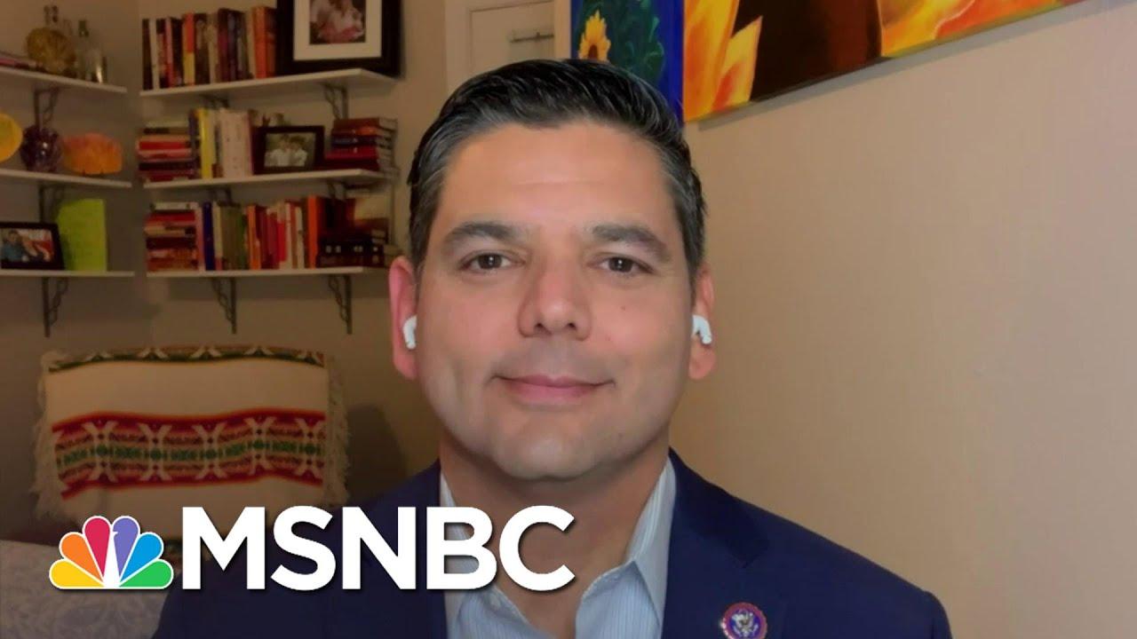 Rep. Raul Ruiz On Challenges Vaccinating Underserved Communities   The Last Word   MSNBC 1