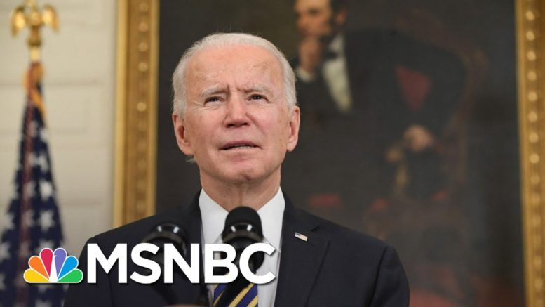 Carrot Or Stick: How Will Biden Deal With Hill Republicans? | The 11th Hour | MSNBC 1