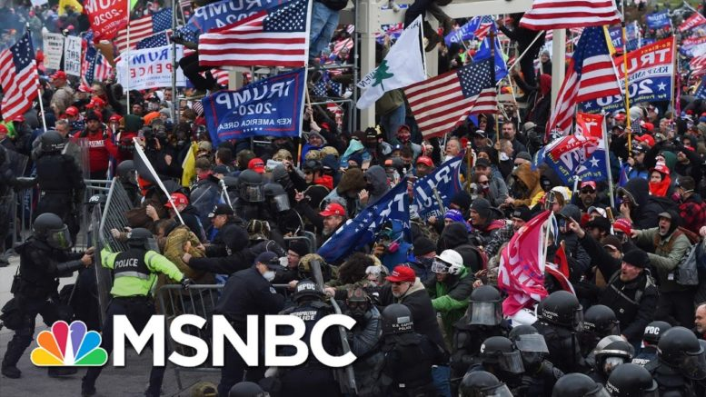Lengthy List Of Questions Only Grows As Congress Holds Hearings On Pro-Trump Riot | Rachel Maddow 1