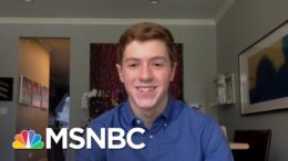 14-Year-Old Benjamin Kagan Helps Seniors Get Covid-19 Vaccine Appointments | Craig Melvin | MSNBC 4