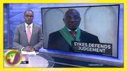 Jamaica's Chief Justice Bryan Sykes Defend Judgement   TVJ News - February 24 2021 2