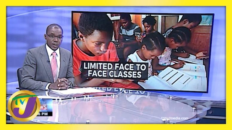 Limited Face to Face Classes in Jamaica | TVJ News - February 24 2021 1