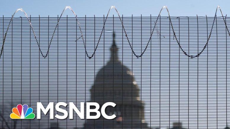U.S. Attorney Investigating Capitol 'Reconnaissance Tours' Ahead Of Pro-Trump Riot | Rachel Maddow 1