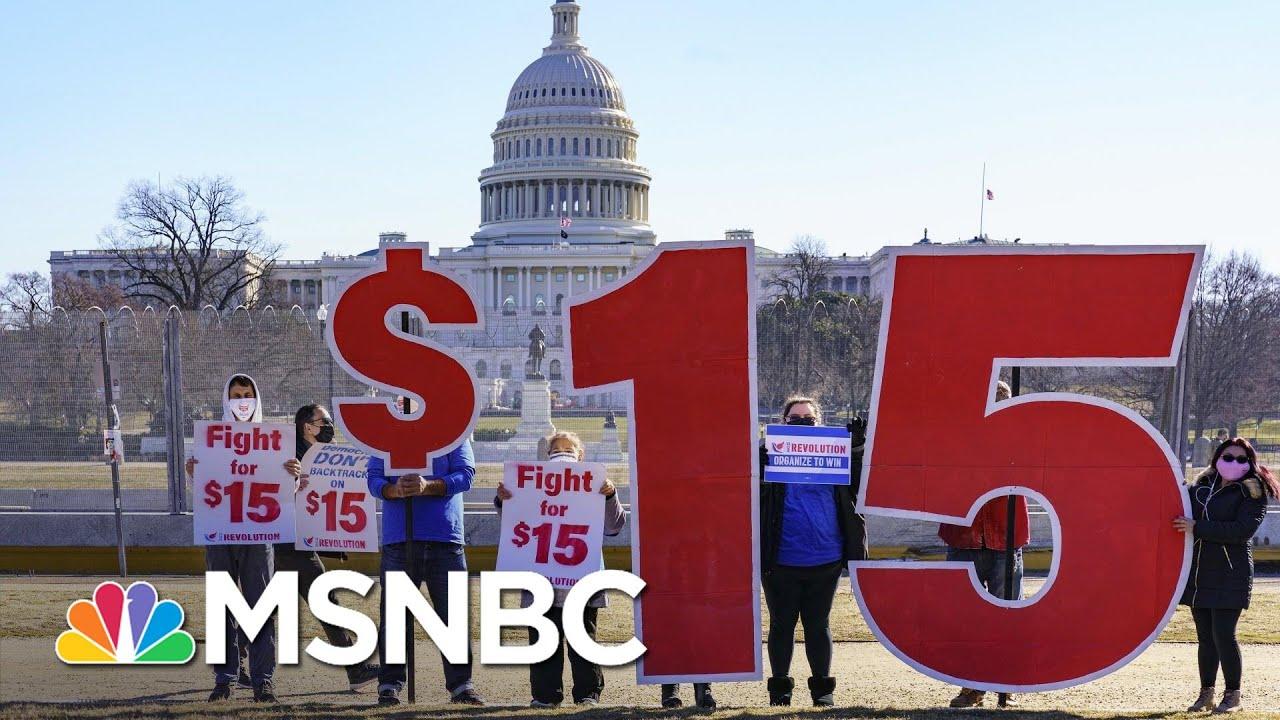 Minimum Wage Fight Puts Renewed Focus On Undemocratic Filibuster In Senate | Rachel Maddow | MSNBC 3