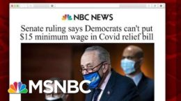 Senate Ruling Removes Minimum Wage From Covid-19 Bill, But Is The Fight Over? | Morning Joe | MSNBC 9