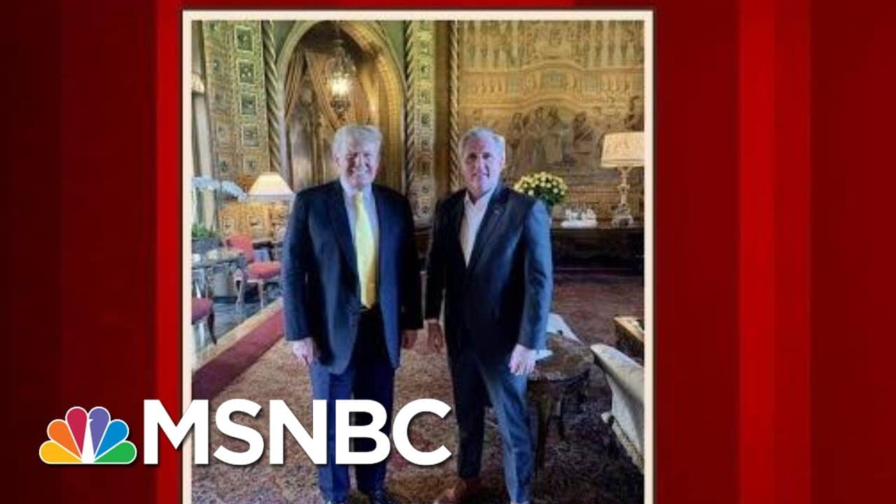 Rep. McCarthy Doubles Down On Rep. Cheney Criticism Over CPAC Remarks | Morning Joe | MSNBC 1