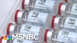 Rare Inside Look At A Lab Where Vaccine Ingredients Are Being Mixed & Developed | MTP Daily | MSNBC 6